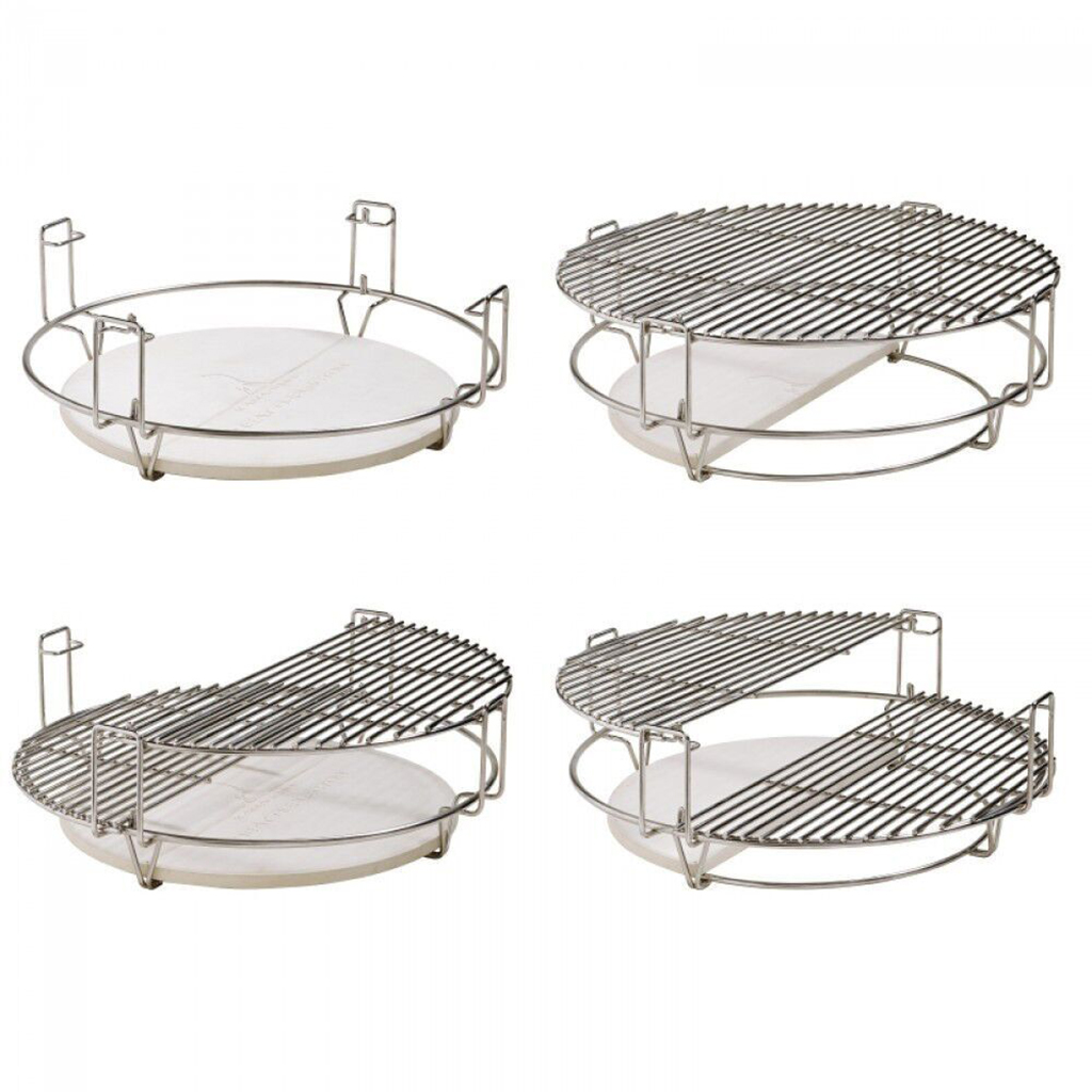 Flexible grill grid WC