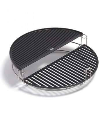 cast iron half grill Plate