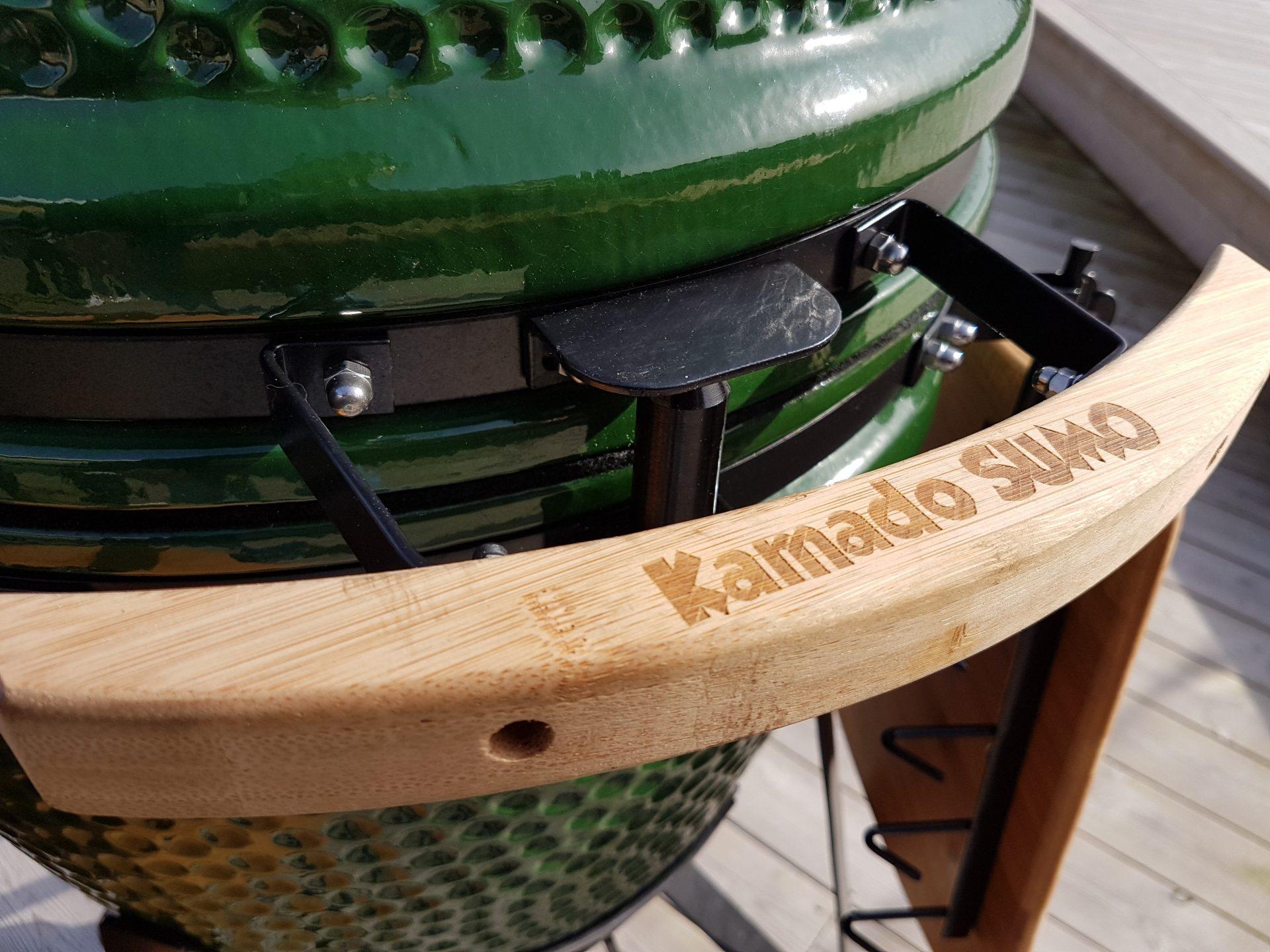 Greppvänligt handtag i bambu