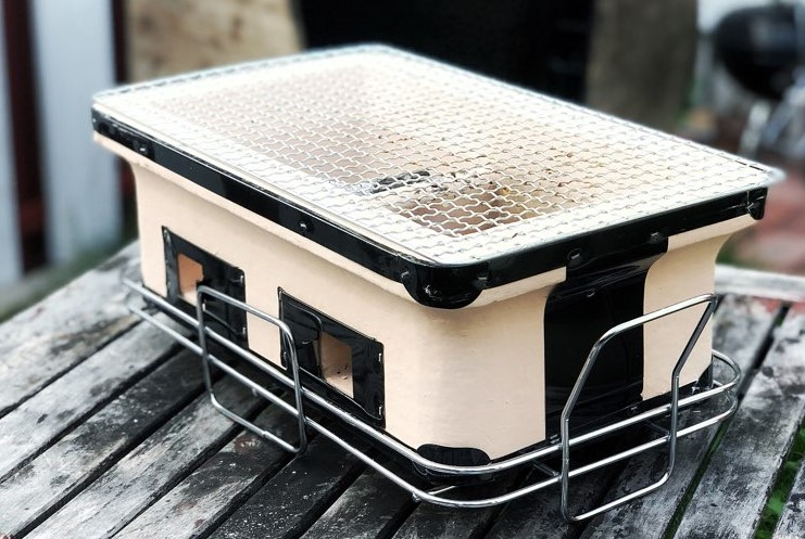Handmade Hibachi Grill
